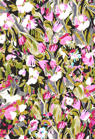 Celia Birtwell inspired print 1